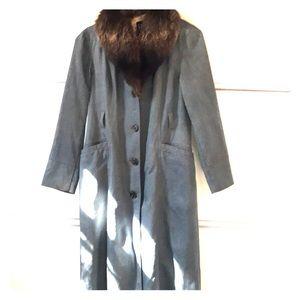 b4e9f0693a7c Women s Gap Faux Fur Coat on Poshmark
